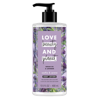 Love Beauty and Planet Argan Oil & Lavender Body Lotion