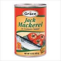 Grace Mackerel In Tomato Sauce, 15 oz