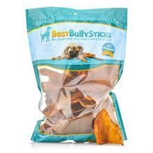 Best Bully Sticks Pig Ears - Made in the USA / 50 Count Pack