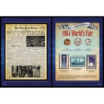 Upm Global, Llc American Coin Treasures New York Times 1964 World's Fair Portfolio