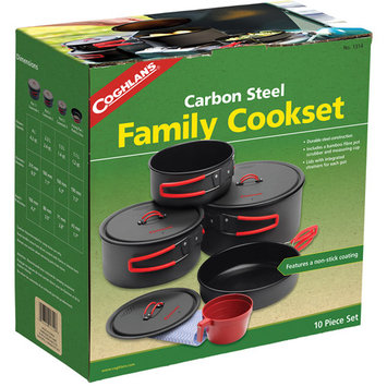 Coghlans 1314 Carbon Steel Family Cookset