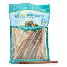 Best Bully Sticks 12 Inch Standard Made in the USA Odor Free Bully Sticks - 50 Pack