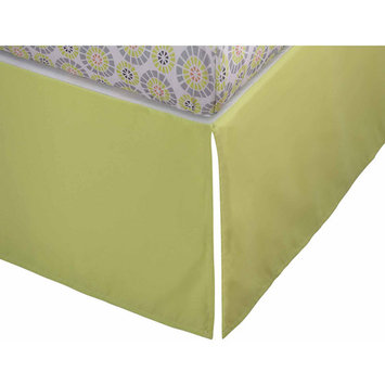 Storkcraft Full-Size Crib Skirt Color: Green