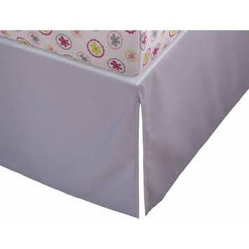 Storkcraft Full Size Crib Skirt Color: Gray