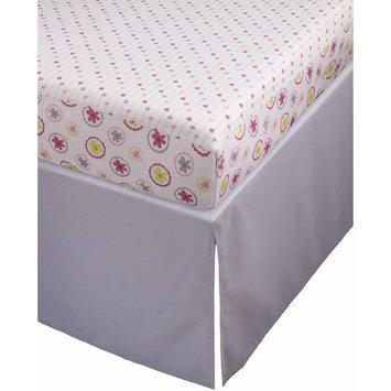 Storkcraft Pattern Play Crib Sheets and Skirt Set Crib Skirt Color: Gray