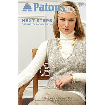 Spinrite Books 303953 Patons-Next Steps Two - Create Pullover