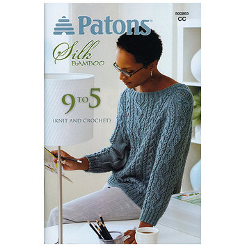 Spinrite Books 370195 Patons-9 To 5 -Silk Bamboo