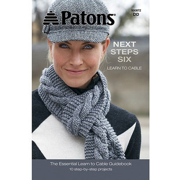 Spinrite Books 404831 Patons-Next Steps Six - Learn To Cable