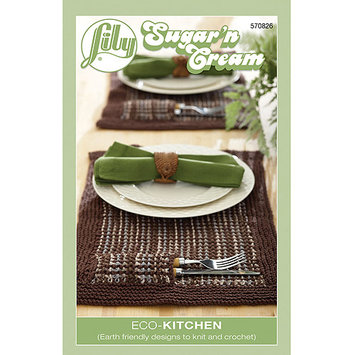 Spinrite Books 409833 Lily-Eco-Kitchen- Sugarn Cream