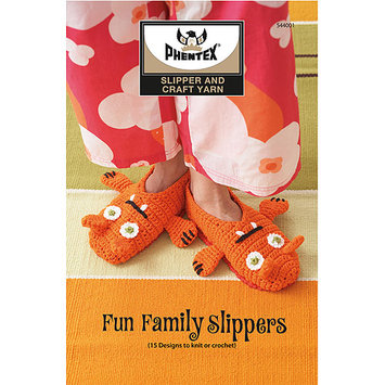 Spinrite Books Bernat-Phentex Slipper Fun