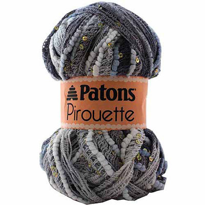 Spinrite Pirouette Twilight Sparkle Patons Yarn