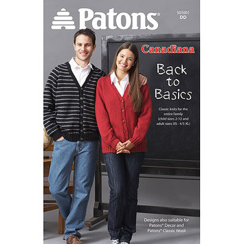 Spinrite Books Patons-Canadiana-Back To Basics