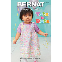 Spinrite Bernat-Tots In Dots -Baby