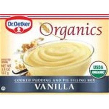 DR OETKER ORGANIC'S Organic Vanilla Pudding 3.8 OZ