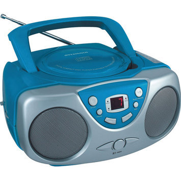 Curtis Electronics Sylvania - Portable CD Boombox - Blue