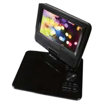 Sylvania SDVD7040 7-inch LCD Portable DVD/Media Player - Black