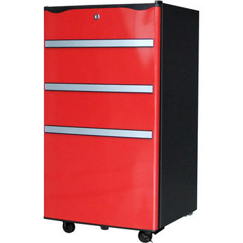 IGLOO Compact Refrigerator 3.2 cu. ft. Mini Refrigerator in Red Red/Orange FR329-RED