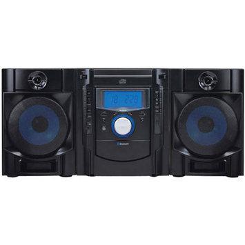 Sylvania Srcd2731bt Bluetooth[r] Cd Radio Micro System With Blue Led Display