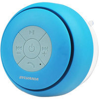 Sylvania Sp230-blue Bluetooth[r] Suction Cup Shower Speaker [blue]