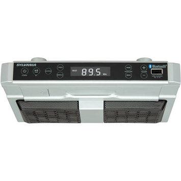 Sylvania Skcr2810bt Bluetooth[r] Undercounter Kitchen Radio