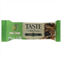 Taste Of Nature 1.4 oz. Apple Organic Wholesome Snack Bar - Case Of 12
