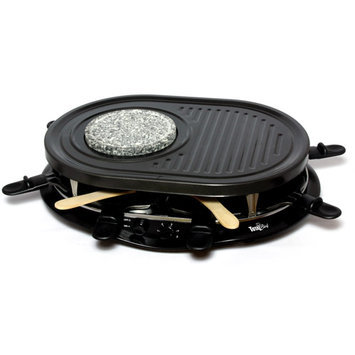 Koolatron Total Chef Raclette Party Grill with Fondue