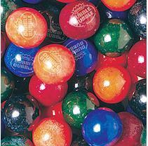 Dubble Bubble PainterZ 24mm Gumballs - 850 count