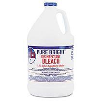 Pure Bright Liquid Bleach, 1 gal Bottle, 6/Carton