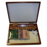 Jaques Shut the Box With Lid Compendium