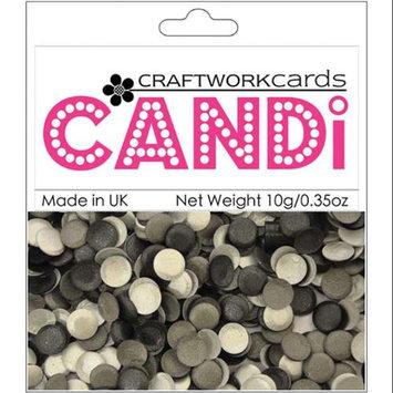Craftwork Cards CW50 Candi Dot Embellishments .35oz-Metropolis