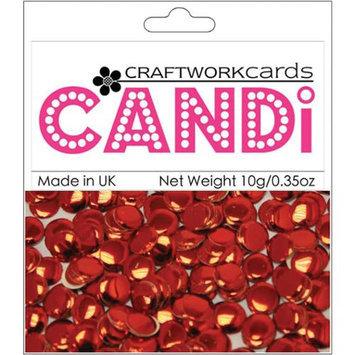 Craftwork Cards CW64 Candi Dot Embellishments .35ozRegal Ruby