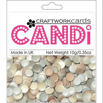 Craftwork Cards CW10 Candi Dot Embellishments .35oz-Baker Street