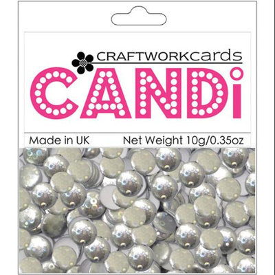 Craftwork Cards CW31 Candi Dot Embellishments .35oz-Champagne Bubbles