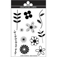 Craftwork Cards Candi Stamps-Build A Bloom
