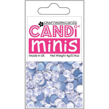 Craftwork Cards CWM130 Candi Dot Printed Embellishments .14oz-Afternoon Tea