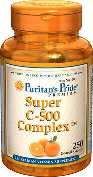 Puritan's Pride 2 Units of Vitamin C-500 Complex-250-Tablets