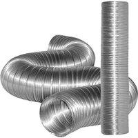 Dundas Jafine Inc. 6in. x 8ft. Flexible Aluminum Ducting MFX68X