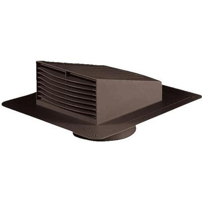 Dundas Jafine Inc. RL6BNP 6 inch Brown Roof Louvers