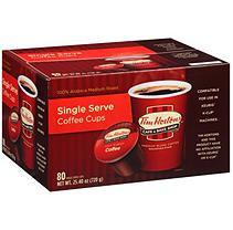 Tim Horton's Tim Hortons Cafe & Bake Shop Premium Blend Coffee Single Serve Cups (80 ct.)
