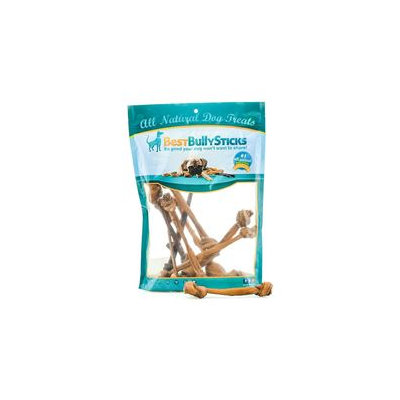 Best Bully Sticks Thin Bully Stick Knotted Bone - 10-Pack