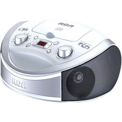 Rca Rcd331wh White Top Load Cd Player