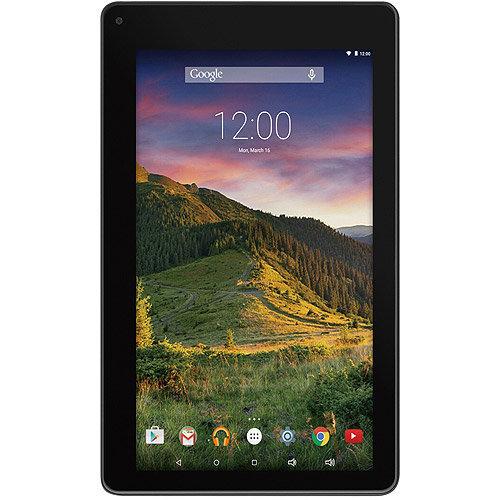 RCA VOYAGER II, 7 8GB Quad Core, Android 5.0 Lollipop (Black)