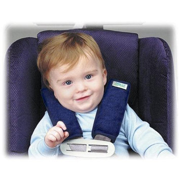 Jolly Jumper Soft Straps Carseat Strap Covers Soft Sherpa
