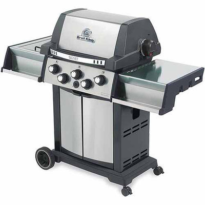 Jensen Outdoor Living Stainless Steel Barbecue Grill