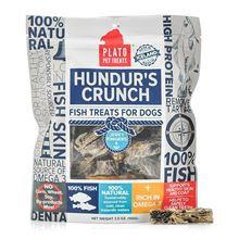 Plato Hundur's Grain Free Crunch Jerky Fingers Dog Treats