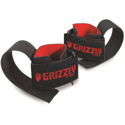 Grizzly Fitness Deluxe Cotton Weight Lifting Wrist Straps