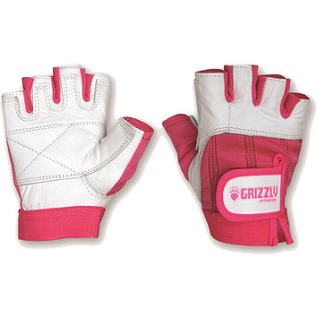 Grizzly Fitness Breast Cancer Training Gloves - Medium