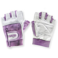 Grizzly Fitness Womens Purple Grizzly Paw Gloves, Medium
