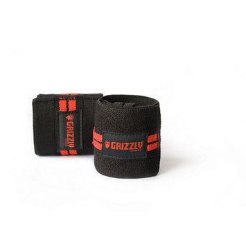 Heavy Duty Red Line Wrist Wraps
