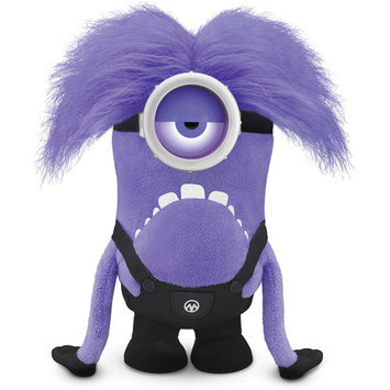 Thinkway Despicable Me 2 - 12 inch Talking/Light Up Purple Minion